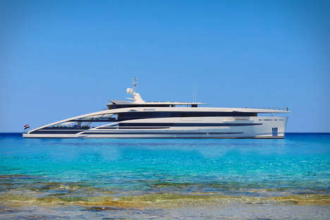 Cruise Ship-Inspired Yachts - The Heesen Project Maximus Yacht is Elegant and Modern