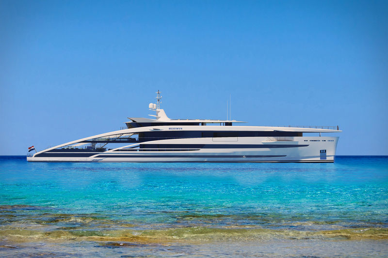 Cruise Ship-Inspired Yachts