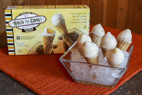 Ready-to-Eat Dessert Cones - Trader Joe's 'Hold the Cone!' Introduces Bite-Sized Frozen Treats