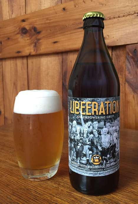 Menopausal Craft Beers - Portsmouth Brewery's 'Libeeration' Was Made for Menopausal Women