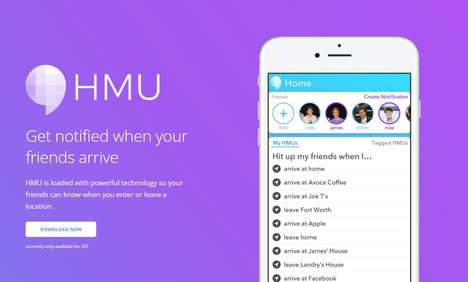 Location-Based Notification Apps - The HMU App Lets Users Send Geo-Based Notifications