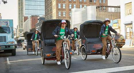 Sci-Fi Show Pedicab Stunts