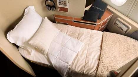 In-Flight Pillow Menus