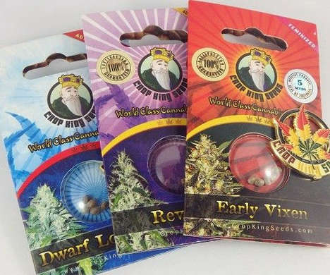 Prepackaged Cannabis Seeds - The Crop King Seeds Let You Grow Your Own Marijuana