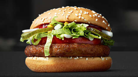 All-Vegan QSR Burgers - In Finland, McDonald's is Introducing the McVegan Burger
