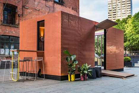 Compact Public Cabins - Sam Jacobs' 'Urban Cabin' is Situated in Downtown London