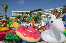 Pool Toy Sanctuaries - Hotels.com Letting People Adopt Forgotten, But Fun Pool Floats