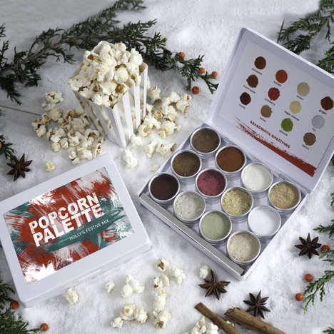 Marvling Bros' Popcorn Kit Includes a Range of Seasonal Powders