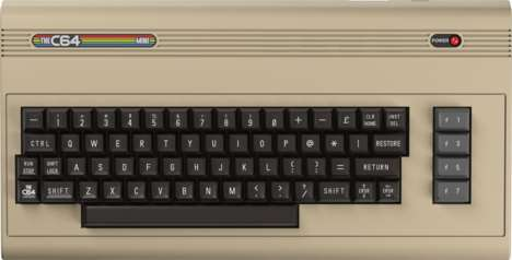 Rescaled Retro Computers - The C64 Mini Shrinks the Eighties Device to Handheld Size