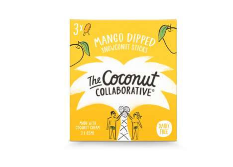 Palm Tree Packaging - This Coconut Yoghurt Brand Got an Endearing Illustrated Makeover