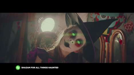 Musical App-Connected Ads - British Supermarket Asda Created a Shazam-Enabled Halloween Commercial