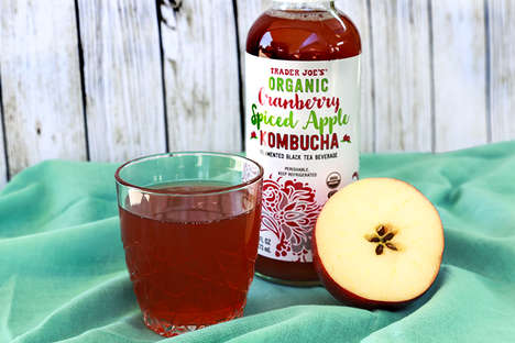 Autumnal Kombucha Beverages