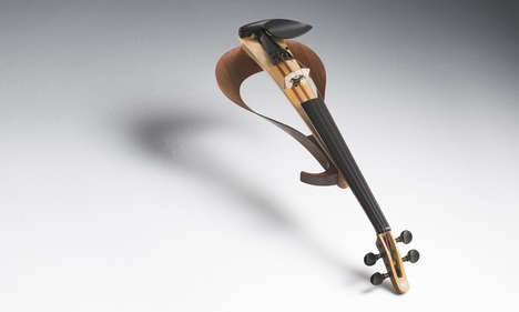 Newfangled String Instruments - This Yamaha Electric Violin Gives Time-Honored Sound a New Form