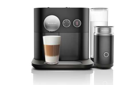 Personalizable Pod Coffee - The Nespresso Expert Serves Consumers a Taste of Customization