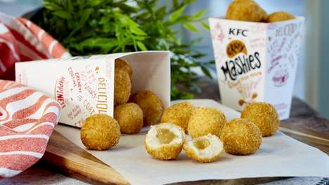 Fried Mashed Potato Balls - KFC Australia is Serving Deep-Fried, Breaded 'Gravy Mashies'
