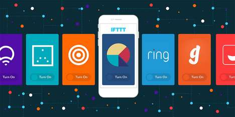 Far-Reaching Social Media Apps - IFTTT is Able to Manage a Variety of Media-Related Services
