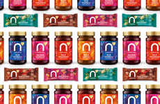 Superfood Condiment Collections - Naturya Offers Superfood-Infused Jams and