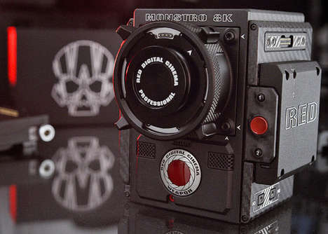 Cinema-Grade 8K Cameras - The RED WEAPON Monstro 8K VV Camera is Incredibly Dynamic