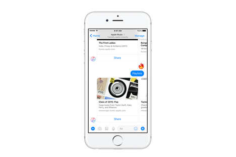 Music Recommendation Bots - Apple Music's Facebook Messenger Chatbot Suggests Songs