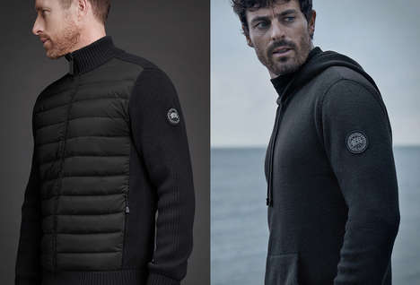 Premium Parka Brand Sweaters - Canada Goose Knitwear Promises Warmth and Breathability