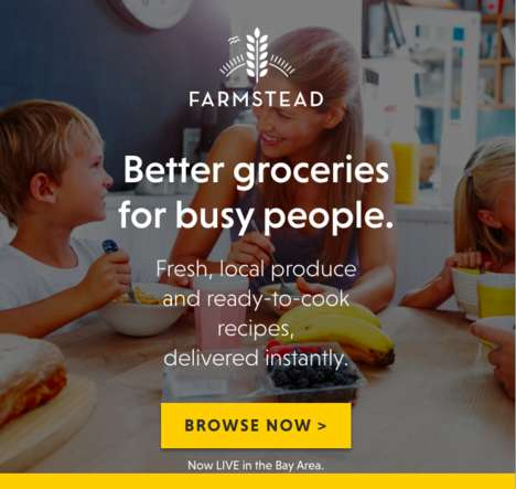 Sustainable Digital Micro-Grocers - Farmstead's AI Calculates and Predicts Orders to Reduce Waste