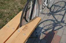Secure Bike Rack Benches
