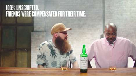 Unscripted Whisky Campaigns - Laphroaig's 'A First for Friends' Shows People Trying Its Whisky