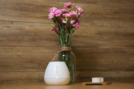 App-Controlled Smart Diffusers - 'Renaisscent' is a Waterless Next-Generation Scent Diffuser