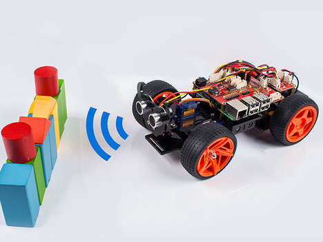Autonomous Toy Cars - This Raspberry Pi DIY Toy Car  Kit Teaches Programming and Robotics