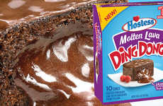 Melting Chocolate Snack Cakes