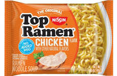 Sodium-Reduced Instant Noodles - The Nissin Top Ramen is Now Free From Artificial Flavors and MSG