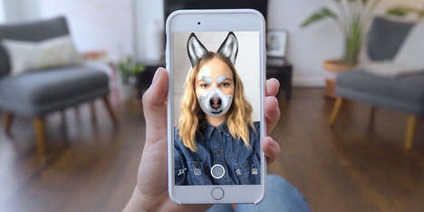 Shareable Shelter Dog Campaigns - BBDO's Adoptable Mask Ad Taps into Snapchat's Selfie Mask Concept