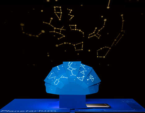Scientific Pop-Up Books - 'This Book is a Planetarium' Offers Fully Functioning Paper Gadgets
