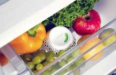 Produce-Preserving Fridge Devices