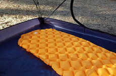 Ergonomic Camping Mattresses - The OutdoorsmanLab Ultralight Sleeping Pads Provides Optimal Support