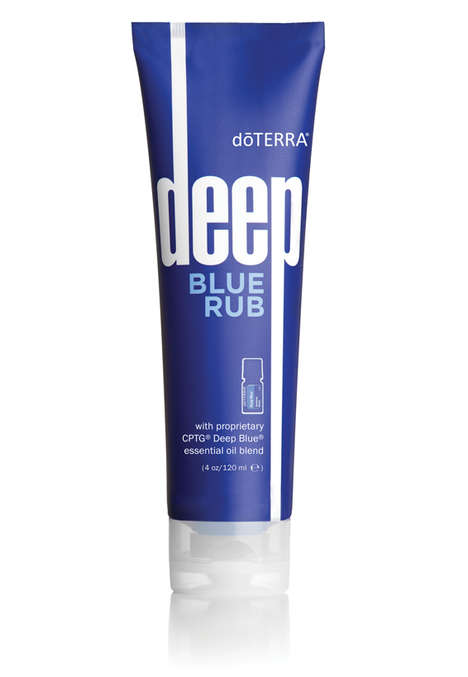 Soothing Topical Creams - Deep Blue Rub is a Topical Cream Enriched with Essential Oils