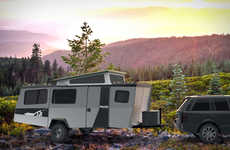 Comprehensive Camping Trailers - The Taxa Mantis Has a Kitchen, Bathroom and Sleeping Quarters