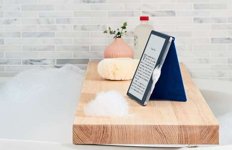 Heavy Duty Waterproof eReaders - The New Kindle Oasis is Ready for Life at the Beach or by the Pool