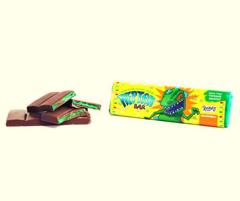 Nostalgic Cartoon Candy Bars