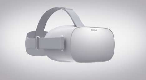 Standalone VR Headsets - The 'Oculus Go' Operates Without Cables or a Mobile Phone