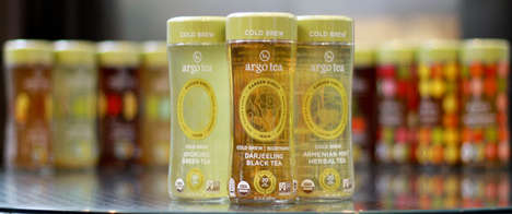 Single-Estate Cold Brew Teas - Argo Tea and Whole Foods Market are Launching RTD Bottled Teas