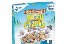 Winter-Edition Breakfast Cereals
