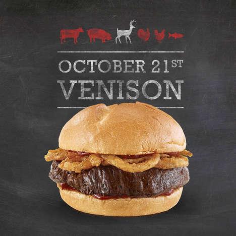 QSR Venison Steak Sandwiches