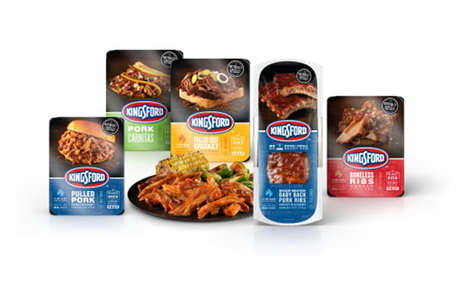 Prepackaged BBQ Meats