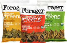 Vegetable Fiber Chips - Forager Project's Organic Vegetable Chips are Combined with Ancient Grains