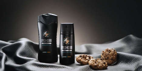 Masculine Cookie Fragrances - AXE's Spray Scent for Men Mimics the Aroma of 'Leather + Cookies'