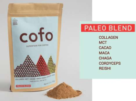 Superfood Coffee Add-Ins - 'Cofo' Enriches Coffee Beverages with Healthy Organic Ingredients