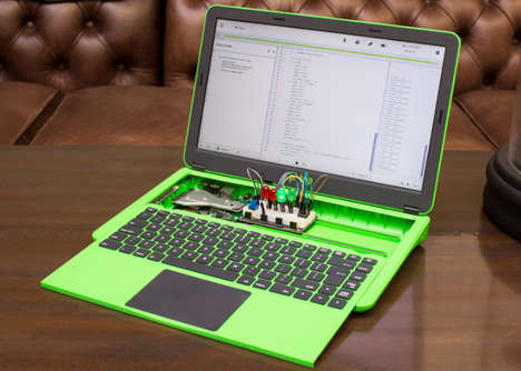 Customizable Consumer Laptops - The 'Pi-Top' Modular Laptops are Inexpensively Priced