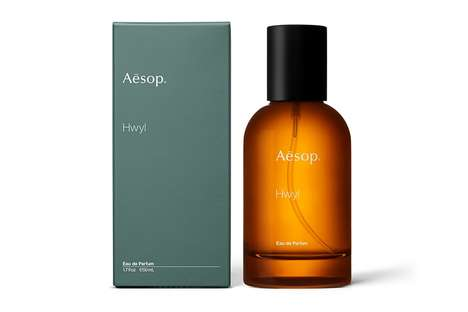 Rich Gender-Neutral Fragrances - Aesop's 'Hwyl Eau De Parfum' is a Scent for the Winter Months