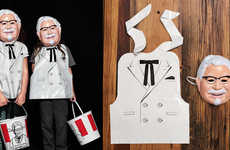 QSR Brand Ambassador Costumes - The KFC Colonel Sanders Halloween Costume is Limited-Edition